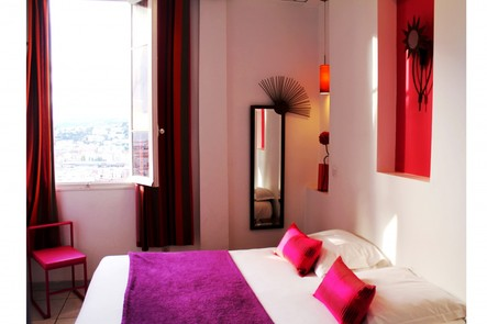 Hotel nice le panoramic boutique h tel sur for Boutique hotel nice