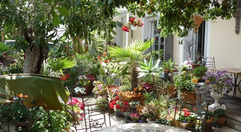 Logis h tel villa victorine for Au jardin de victorine nice